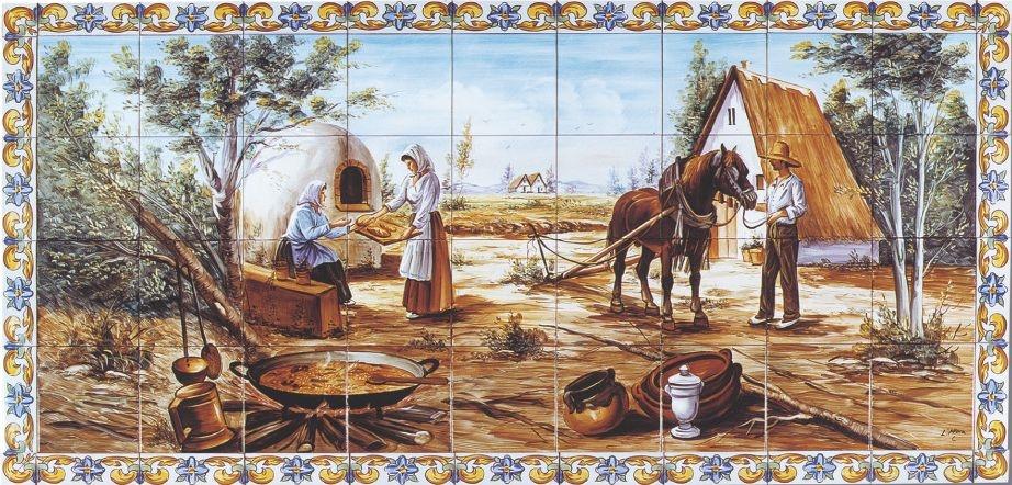 Murales de azulejos imagenes religiosas - Murales de azulejos ...
