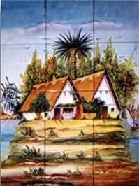 Murales de azulejos murales de cer mica decorada - Murales de azulejos ...